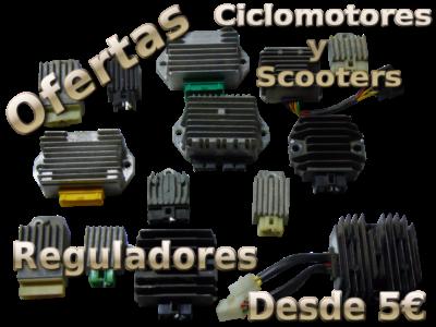 Ofertas en reguladores de Ciclomotores y Scooters